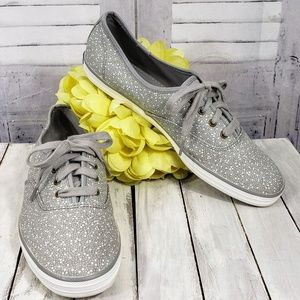 Keds Champion grey mini-dot print